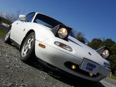 ユーノスロードスターノーマルベース ロールバー5速ミッション深谷市 中古車販売#