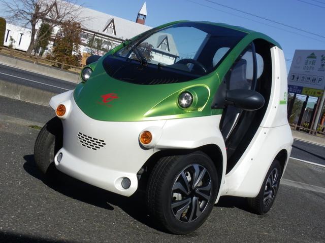 トヨタ  コムス P.COM EV 電気自動車
