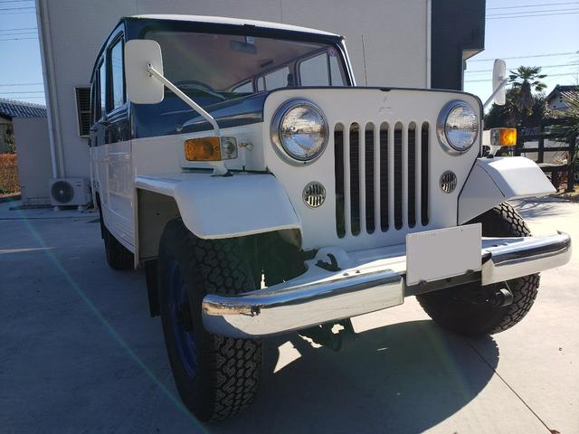 ワゴンタイプ ガソリン車 4WD エアコン 希少J38 2400CC