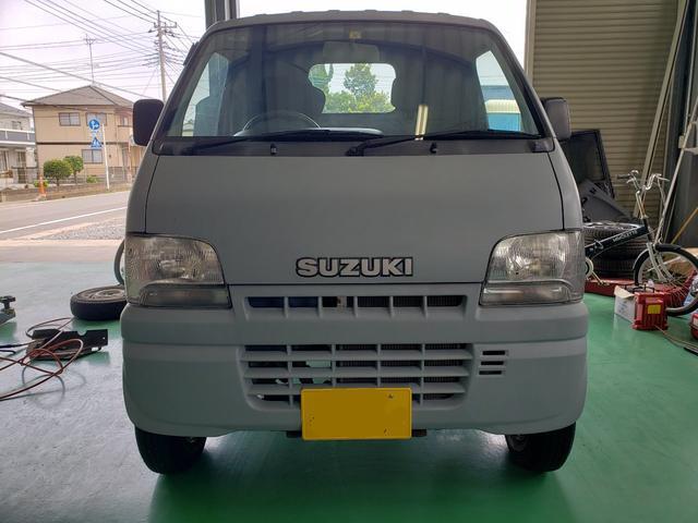 スズキ キャリイトラック KA 5速マニュアル パワステ 3方開 全塗装