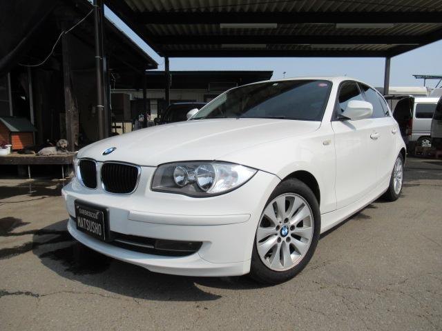 BMW 116i スマートキー ETC ポータブルナビ