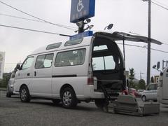 キャラバンバススーパーロングGX 車いす移動車 福祉車両