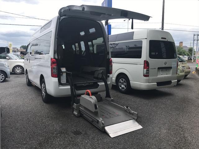 日産 NV350キャラバンバン  福祉車両 AT 修復歴無 バックカメラ スライドドア
