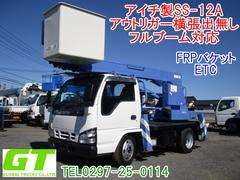 エルフトラック12m 高所作業車 アイチ製SS−12A
