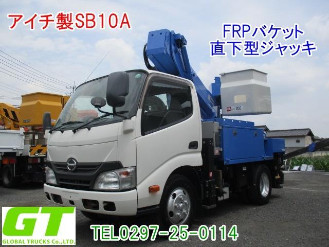 日野 高所作業車 アイチ製 10m SB10A