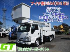 エルフトラックアイチ 高所作業車 U594(SH15B) FRPバケット