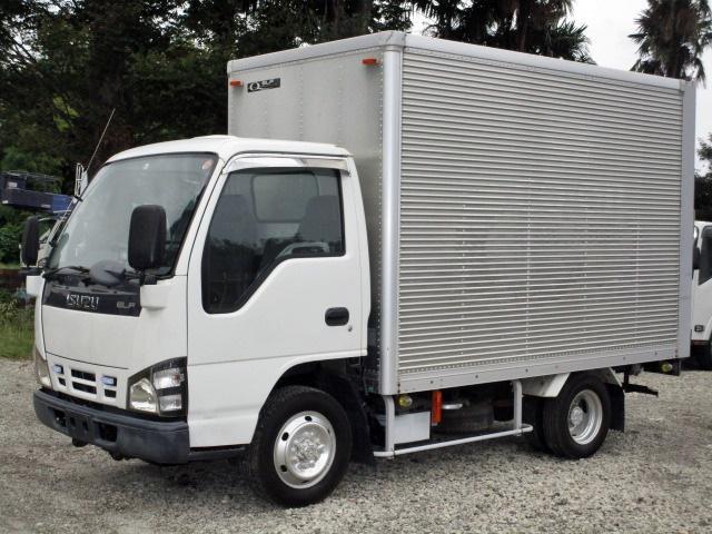 いすゞ 積載1.3t 切替式4WD アルミバン