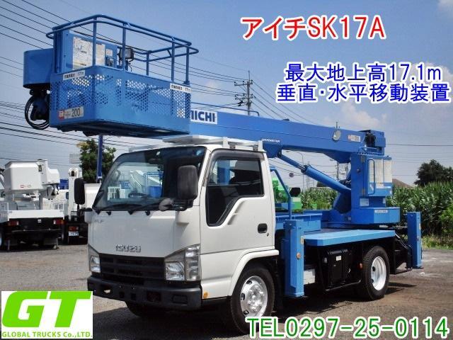 いすゞ アイチ 17m 高所作業車 SK17A