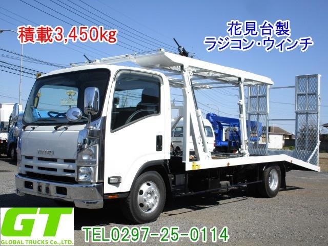 いすゞ 積載3.45t 花見台製 2台積 キャリアカー ラジコン