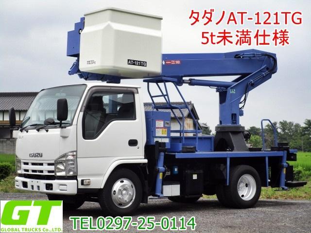 いすゞ エルフトラック タダノ 12m 高所作業車 AT121TG 5t未満仕様