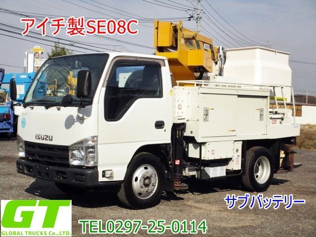 アイチ 8m 高所作業車 SE08C サブバッテリー