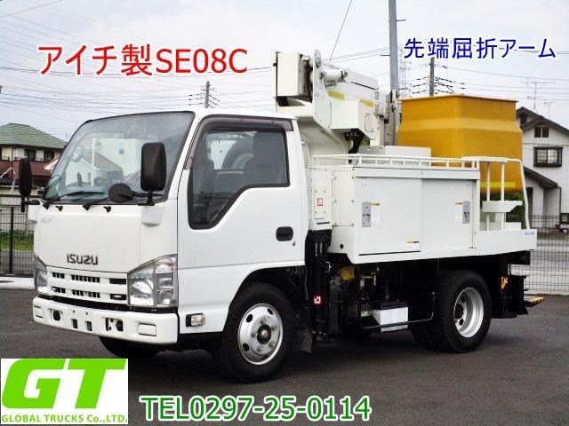 いすゞ エルフトラック  アイチ 8m 高所作業車 SE08C