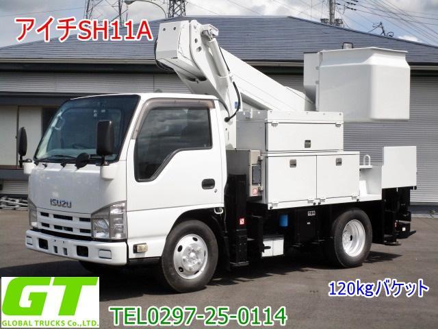 いすゞ エルフトラック  アイチ 11m 高所作業車 SH11A