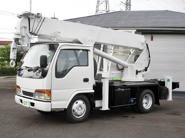 いすゞ エルフトラック  古河ユニック 3tレッカー UT305