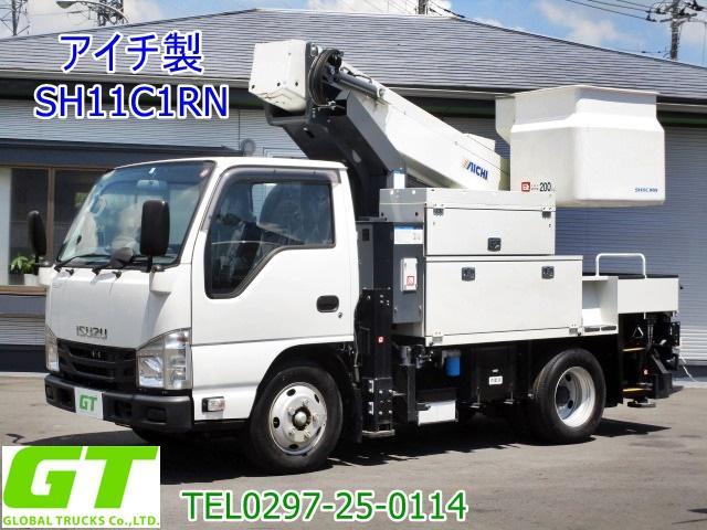いすゞ  アイチ 11m 高所作業車 SH11C1RN