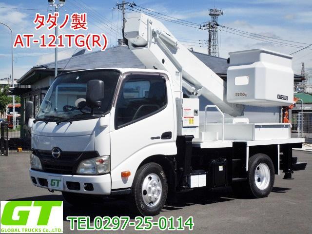 日野  タダノ 12m 高所作業車 AT121TG リアバケット
