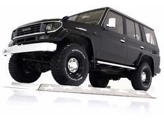 ランドクルーザープラドSXワイド 4WD リフトUP タイベル交換済 社外16AW