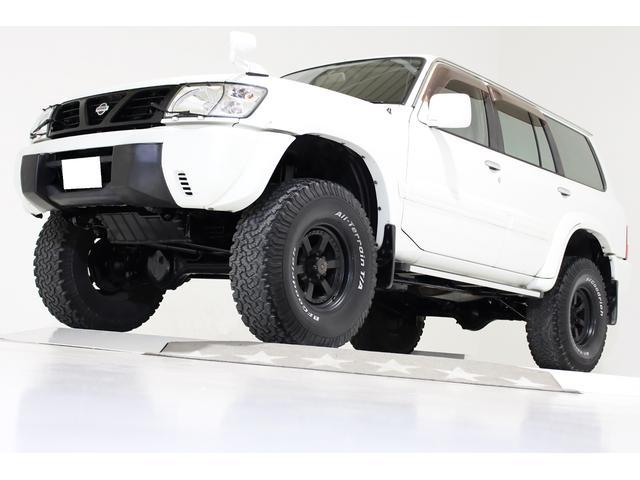 日産 グランロード 4WD リフトUP HDDナビ フルセグTV