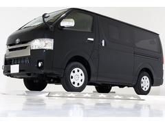 ハイエースバンスーパーGL ダークプライム 4WD 登録済未使用車 ターボ