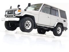 ランドクルーザー70ZX 4WD タイベル交換済 サンルーフ ナビ TV ETC