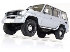 ランドクルーザープラドSXワイド4WD リフトUP タイベル交換済 MUD16AW