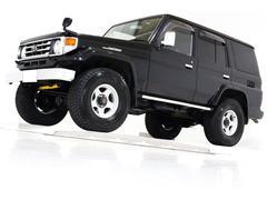 ランドクルーザー70ZX 4WD リフトUP タイベル交換済 ナビ サンルーフ付