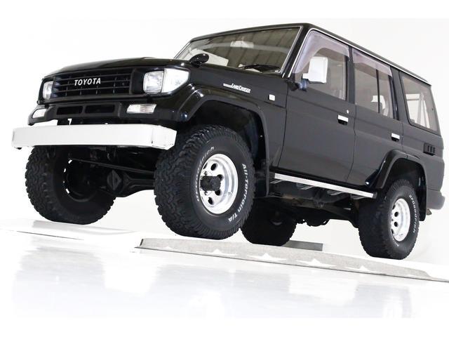 トヨタ SXワイド 4WD リフトUP ブラックレザー調シートカバー