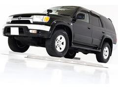 ハイラックスサーフSSR−G 4WD HDDナビ TV 黒レザー調シートカバー
