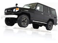 ランドクルーザー70LX 4WD リフトUP ナローボディ タイベル交換済 ナビ