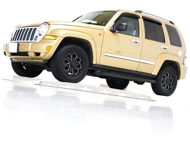 クライスラー・ジープ リミテッド 4WD HDDナビ CD ETC 本革電動シート