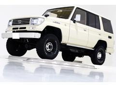 ランドクルーザープラドSX 4WD ナロー リフトUP ナビ TV 内装ブラウン車