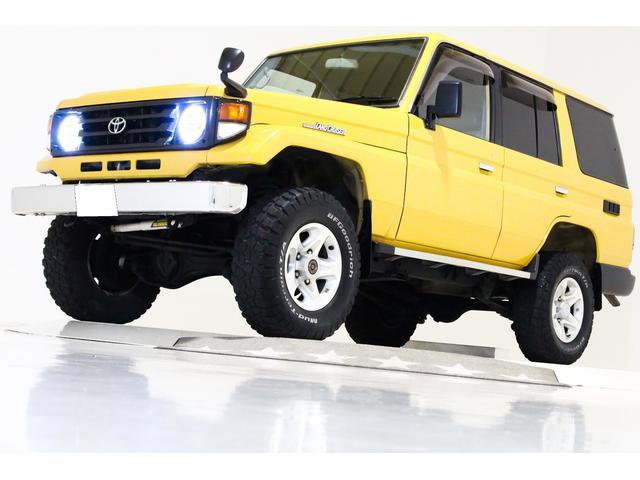 トヨタ LX 4WD リフトUP 前後デフロック付 タイベル交換済