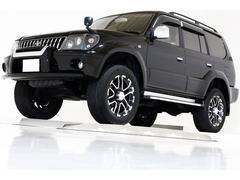 ランドクルーザープラドTZ 4WD リフトUP 新品タイベル&ウオポン交換済 ナビ