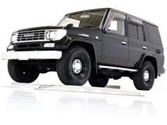 ランドクルーザープラドEXワイド4WD サンルーフ HDDナビ 新品タイベル交換済