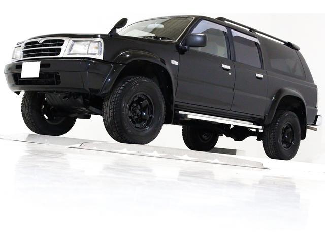 マツダ Sパック 4WD サンルーフ リフトアップ車 CD ETC