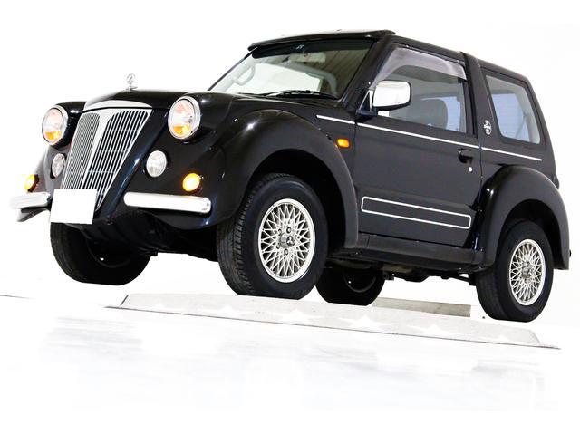 三菱 フライング パグ 4WD 禁煙車 ヴィンテージヘッドライト
