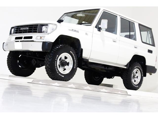 トヨタ LX 4WD リフトUP 新品タイベル交換済 4ナンバー可