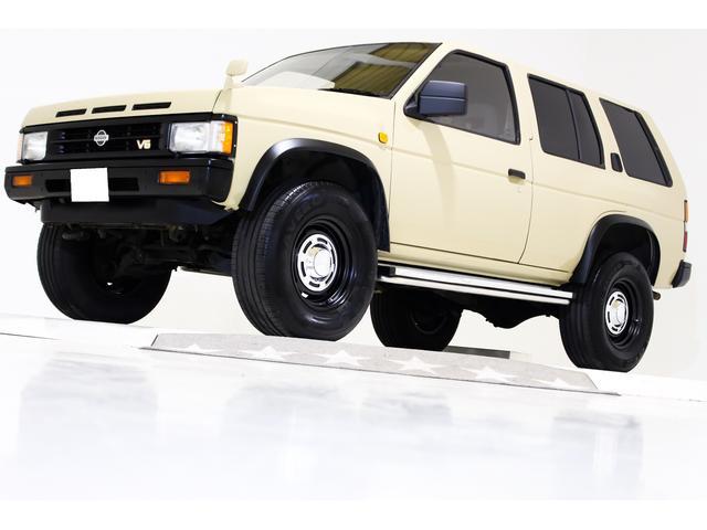 日産 V6-3000 R3M 4WD リフトUP タイベル交換済み
