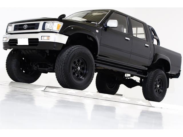 トヨタ ダブルキャブ SSR-X 4WD リフトUP ワンオーナー