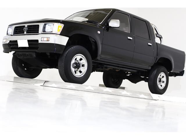 ダブルキャブ SSR-X ワイド 4WD タイベル交換済