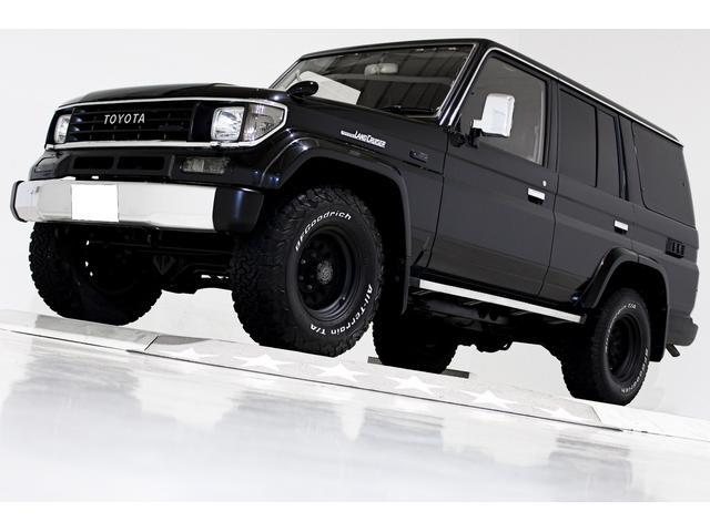 トヨタ SXワイド 4WD タイベル交換済 黒レザー調シートカバー