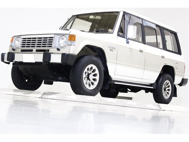 三菱 パジェロ エクシード4WD ワンオーナー タイベル交換済 4ナンバー可
