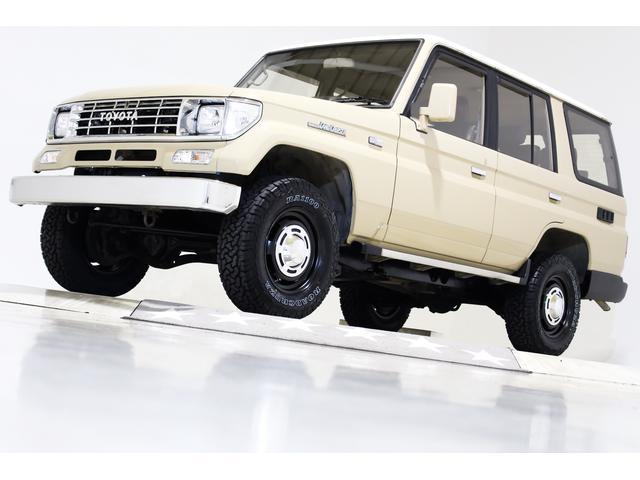 トヨタ ランドクルーザープラド EX5 4WD NOXPM規制解除済 リビルトシリンダーヘッド交換済 リビルトラジエーター交換済 エアコン修理済 新品タイベル交換済 ナロー ヴィンテージ16インチAW 新品タイヤ レザー調シートカバー