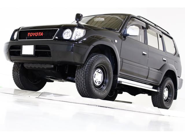 トヨタ TX 4WD 丸目仕様 ヴィンテージグリル ヴィンテージ16インチアルミホイール ブラックレザー調シートカバー LEDファイバーイカリングヘッドライト キーレス 3列シート 8人乗り ナビ CD ETC