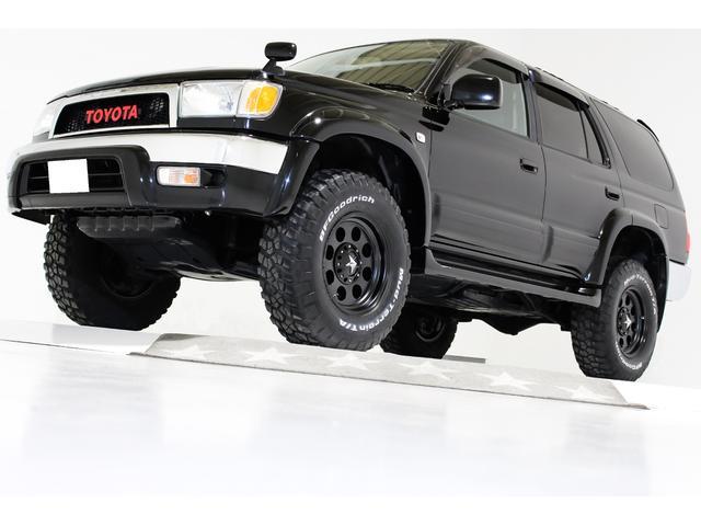 トヨタ SSR-X 4WD リフトアップ タイミングベルト交換済 ヴィンテージグリル STARマットブラック16インチアルミホイール 前後クロームメッキバンパー ウッドステアリング ブラックレザー調シートカバー