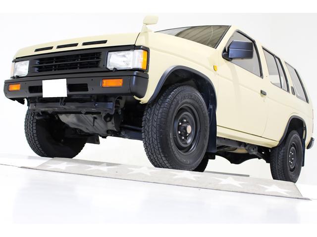日産 R3M R3M 4WD タイミングベルト交換済 ナローボディ仕様 NARDIブラックレザーステアリング US仕様コーナーランプ 社外キーレス エアコン吹き出し口枠新品交換済み 背面レス仕様車 CDオーディオ