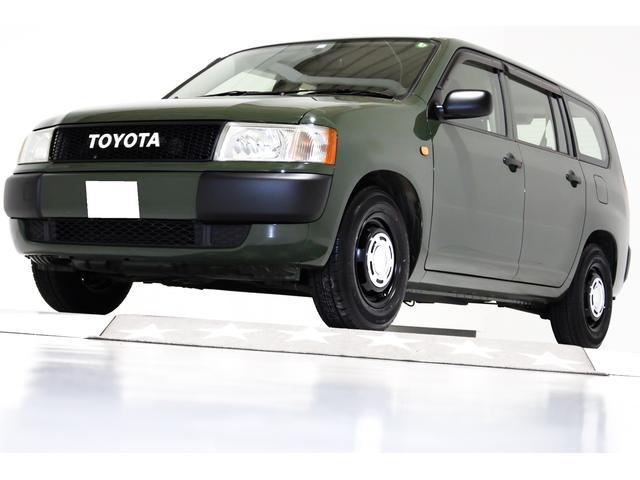 トヨタ DXコンフォートパッケージ ヴィンテージグリル TOYOTAエンブレム ヴィンテージ14インチアルミホイール キーレス付 アーミーグリーン マットブラック ヘッドライトコーティング済み 4ナンバー 5人乗り