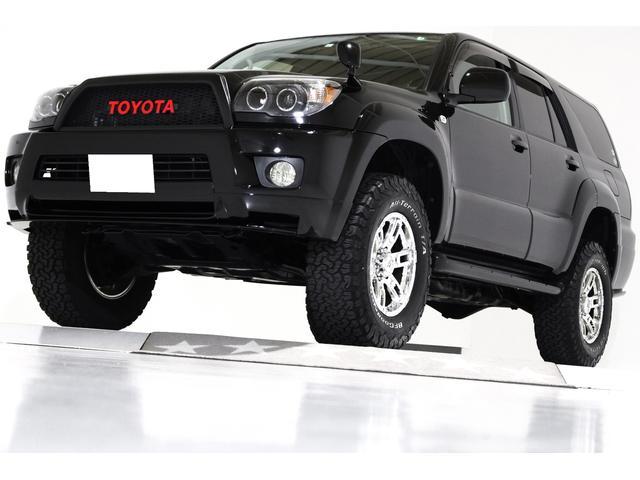トヨタ SSR-X Vセレクション 4WD 新品ダッシュボード交換 リフトアップ ヴィンテージメッシュグリル インナーブラックLEDイカリングヘッドライト クロームメッキ17インチアルミホイール スポイラー ブラックレザー調シートカバー