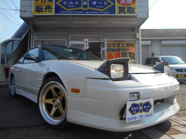 日産 タイプX  車高調 LSD マフラー エキマニ S15足回り