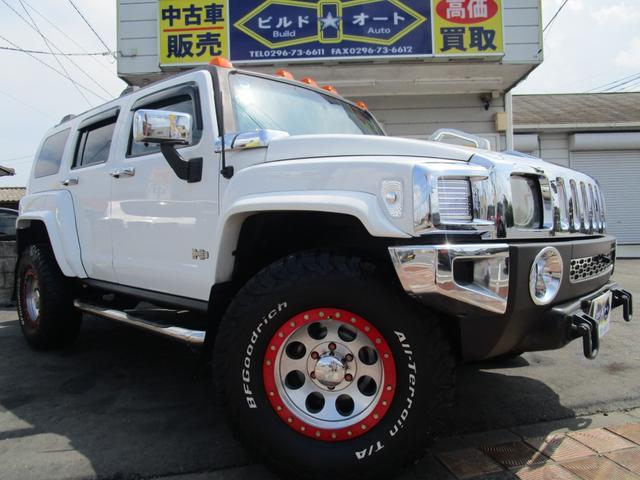 「ハマー」「ハマー H3」「SUV・クロカン」「茨城県」の中古車